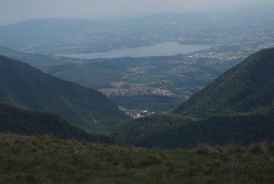 Monte Palanzone panorama verso Sud