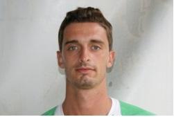 L'attaccante Matteo Gasparri