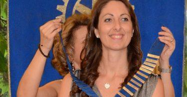 Ramona Brivio Presidente del Rotary Club Colli Briantei 2