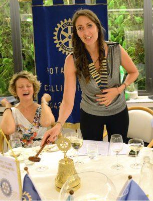 Ramona Brivio, neo Presidente del Rotary Club Colli Briantei
