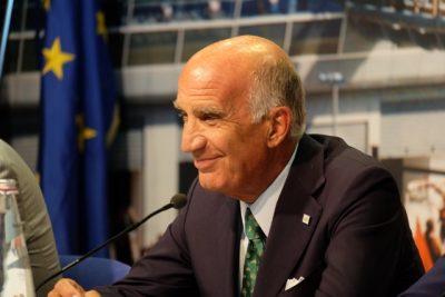 Angelo Sticchi Damiani, Presidente ACI, sorride sornione e ne ha ben donde dopo aver annunciato che il rinnovo del contratto per Monza è imminente