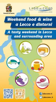 Lecco, weekend food & wine