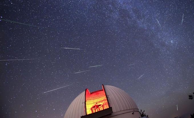 Notte di San Lorenzo osservatorio astronomico