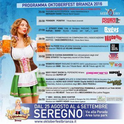 Oktoberfest Seregno programma