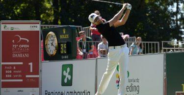 Open d'Italia golf tiro