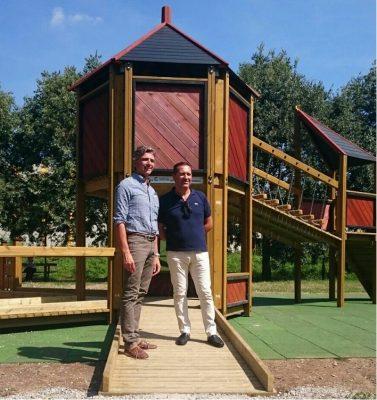 Seregno, nuovo gioco parco via Parini