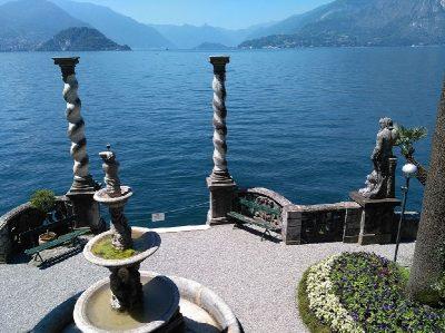 Villa Monastero panorama lago