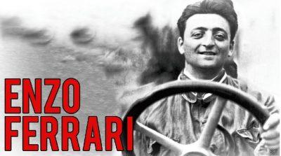 Enzo Ferrari giovane