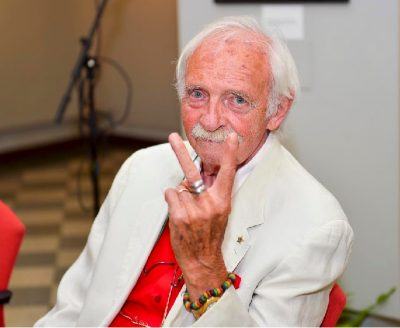 Erminio Ferranti, grande fotoreporter monzese, conosciuto da tutti come l'Ammiraglio