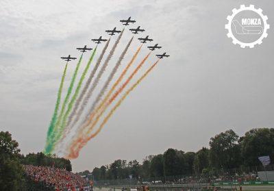 GP di Monza Frecce Tricolori