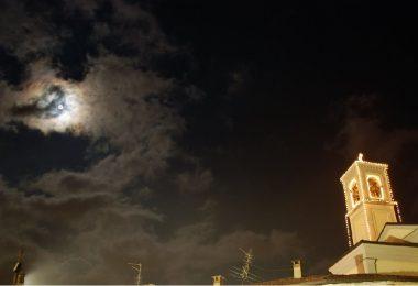Guanzate Santuario della Madonna del Latte illuminato