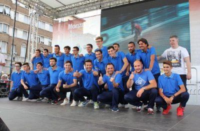 HRC Monza formazione 2016-17