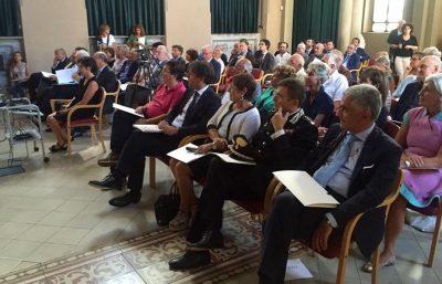 Il Paese Ritrovato presentazione La Meridiana Monza pubblico