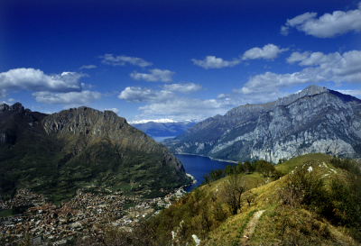 Lecco panorama dai monti