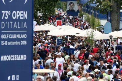 Open d'Italia il pubblico