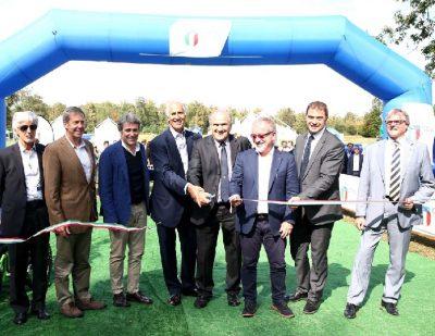Open d'Italia l'inaugurazione del Villaggio CONI