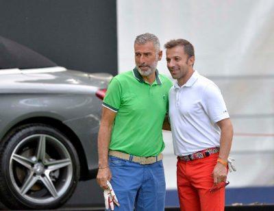 Tassotti e Del Piero in gara nella Pro Am