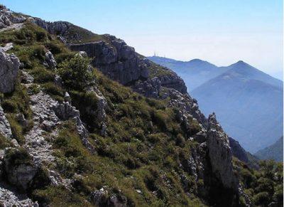 Valle Imagna il Monte Resegone dall'Alta Valle - BG