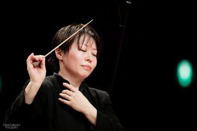 Direttore d'Orchestra Zhang Xian - foto di Paolo Dalprato