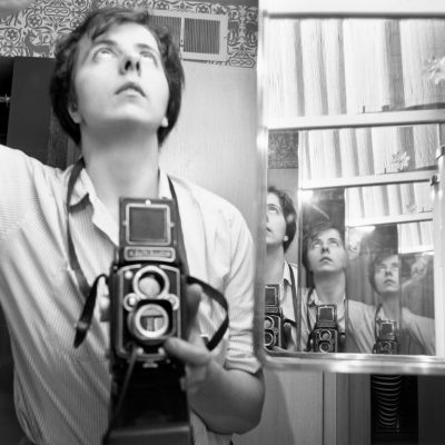 Vivian Maier, Self-Portrait, 1956, 40x50 cm(16x20 inch.) , © Vivian Maier/Maloof Collection, Courtesy Howard Greenberg Gallery, New York
