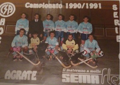 Hockey Agrate 1990-91