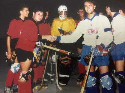 Hockey Agrate Umberto Villa capitano