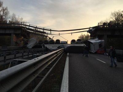 SS36 Valassina crollo ponte