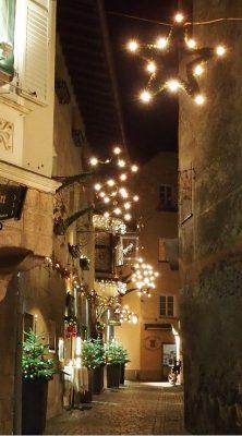 Bressanone, l' angolo caratteristico dell'Oste Scuro