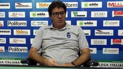 Renate Calcio l'allenatore Foschi