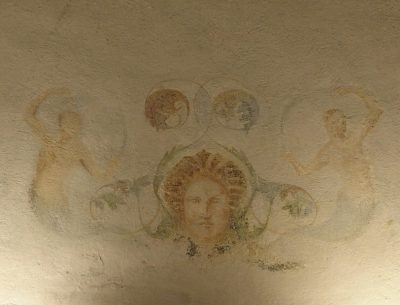 Villa Reale bagno delle regine volta affrescata