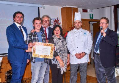 CFPA Casargo, Lorenzo Pertesana premiato