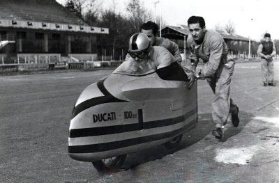 Ducati 100 Siluro Monza 1956