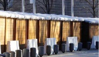 Lecco, barriere al mercatino di Natale