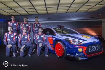 Monza Rally Show presentazione Hyundai