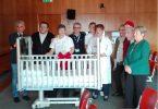 Ospedale di Desio, nuovi lettini in pediatria