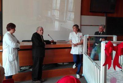 Ospedale di Desio, nuovi lettini in pediatria Riva
