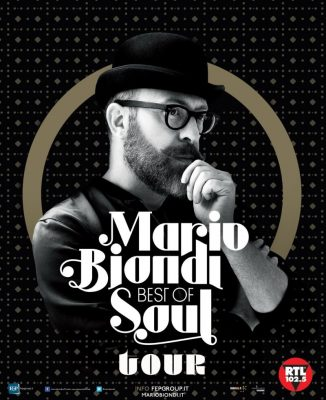 Mario Biondi Best Of Soul Tour locandina