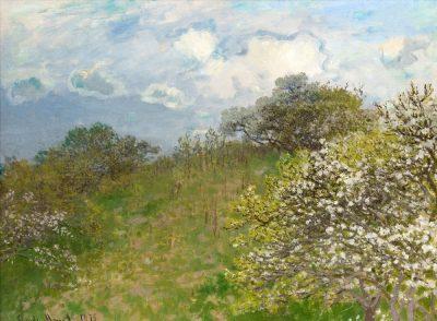 Claude Monet, Primavera, 1875, olio su tela , cm 58 x 78,5