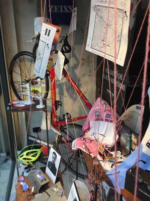 Giro d'Italia 100 Monza vetrina