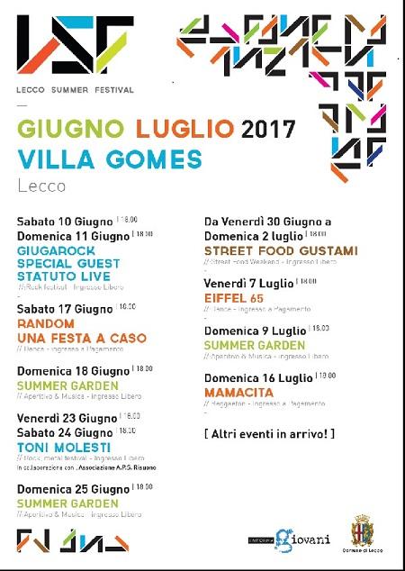 Lecco Summer Festival 2017