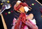 Crudo di pesce con gamberoni del Tigullio