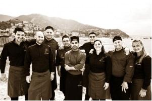 La squadra vincente di Rocco e i Suoi Fratelli ristorante di Rapallo