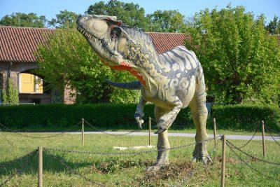 dinosauri mostra parco di Monza 2