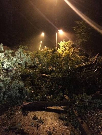 I danni della tromba d'aria abbattutasi in Brianza la sera di giovedì 13 luglio. Grande lavoro per la Protezione Civile