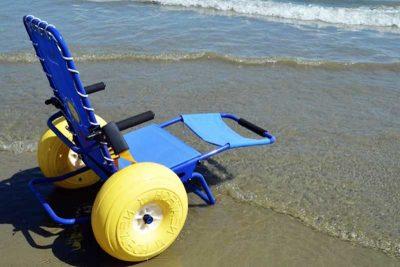 Disabilità vacanze sedia
