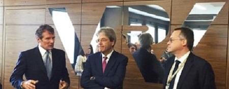 Il Premier Paolo Gentiloni ha fatto visita a tre importanti realtà industriali brianzole accompagnato dal Presidente di Assolombarda Carlo Bonomi