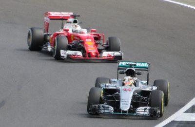 Gran Premio Heineken d'Italia 2017 Hamilton Vettel