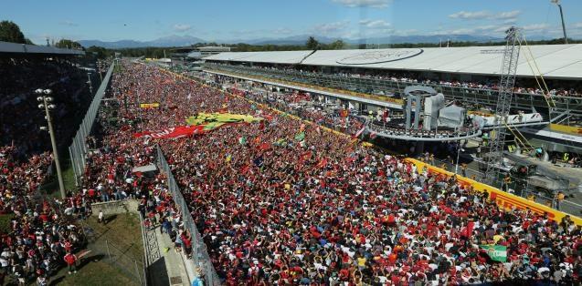 Gran Premio Heineken d'Italia 2017 podio