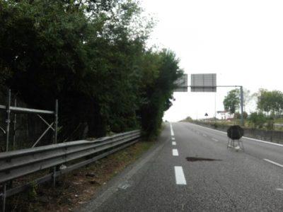 Milano-Meda segnaletica