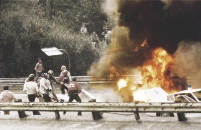 GP d'Italia 1978, il tragico rogo alla partenza al seguito del quale morì Ronnie Peterson tre volte vincitore a Monza